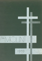 1959 Edition, Mount Saint Joseph Academy - Mount Yearbook (Rutland, VT)