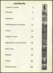 Page 7, 1959 Edition, Mount Saint Joseph Academy - Mount Yearbook (Rutland, VT) online yearbook collection