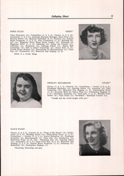 Page 13, 1949 Edition, Randolph Union High School - Galloping Ghost Yearbook (Randolph, VT) online yearbook collection