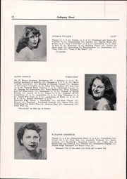 Page 14, 1949 Edition, Randolph Union High School - Galloping Ghost Yearbook (Randolph, VT) online yearbook collection