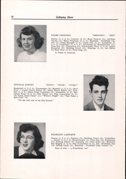 Page 16, 1949 Edition, Randolph Union High School - Galloping Ghost Yearbook (Randolph, VT) online yearbook collection