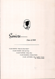 Page 7, 1949 Edition, Randolph Union High School - Galloping Ghost Yearbook (Randolph, VT) online yearbook collection