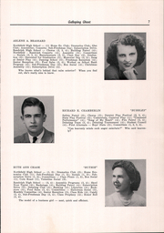 Page 9, 1949 Edition, Randolph Union High School - Galloping Ghost Yearbook (Randolph, VT) online yearbook collection