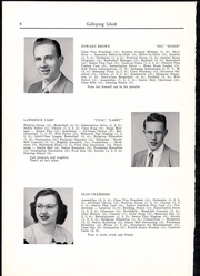 Page 10, 1950 Edition, Randolph Union High School - Galloping Ghost Yearbook (Randolph, VT) online yearbook collection