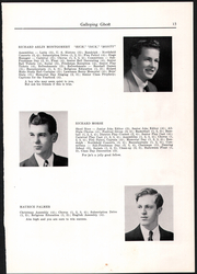 Page 15, 1950 Edition, Randolph Union High School - Galloping Ghost Yearbook (Randolph, VT) online yearbook collection
