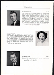 Page 16, 1950 Edition, Randolph Union High School - Galloping Ghost Yearbook (Randolph, VT) online yearbook collection