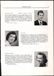 Page 17, 1950 Edition, Randolph Union High School - Galloping Ghost Yearbook (Randolph, VT) online yearbook collection