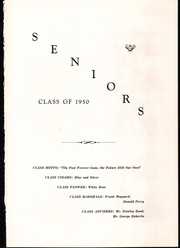 Page 7, 1950 Edition, Randolph Union High School - Galloping Ghost Yearbook (Randolph, VT) online yearbook collection