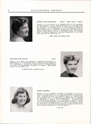 Page 10, 1954 Edition, Randolph Union High School - Galloping Ghost Yearbook (Randolph, VT) online yearbook collection