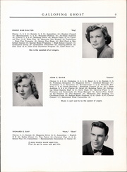 Page 11, 1954 Edition, Randolph Union High School - Galloping Ghost Yearbook (Randolph, VT) online yearbook collection