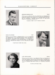 Page 12, 1954 Edition, Randolph Union High School - Galloping Ghost Yearbook (Randolph, VT) online yearbook collection
