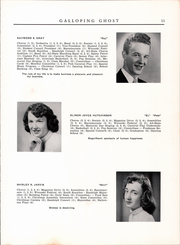 Page 13, 1954 Edition, Randolph Union High School - Galloping Ghost Yearbook (Randolph, VT) online yearbook collection