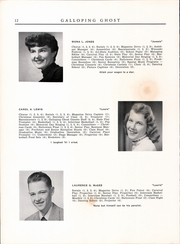 Page 14, 1954 Edition, Randolph Union High School - Galloping Ghost Yearbook (Randolph, VT) online yearbook collection