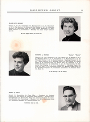 Page 15, 1954 Edition, Randolph Union High School - Galloping Ghost Yearbook (Randolph, VT) online yearbook collection
