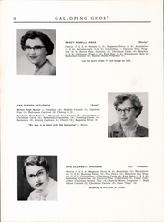 Page 16, 1954 Edition, Randolph Union High School - Galloping Ghost Yearbook (Randolph, VT) online yearbook collection