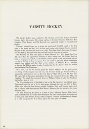 Vermont Academy - Wildcat Yearbook (Saxtons River, VT) online yearbook collection, 1960 Edition, Page 60