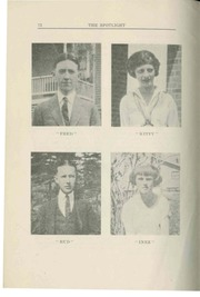 Page 10, 1923 Edition, Proctor High School - Proctorian Yearbook (Proctor, VT) online yearbook collection