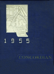 1955 Edition, Concord High School - Concordian Yearbook (Concord, VT)