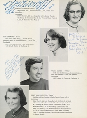 Page 17, 1956 Edition, Chester High School - Flamstead Challenge Yearbook (Chester, VT) online yearbook collection