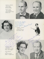 Page 9, 1956 Edition, Chester High School - Flamstead Challenge Yearbook (Chester, VT) online yearbook collection