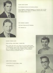Page 14, 1959 Edition, Chester High School - Flamstead Challenge Yearbook (Chester, VT) online yearbook collection