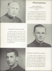Page 10, 1956 Edition, Cathedral High School - Tower Yearbook (Burlington, VT) online yearbook collection