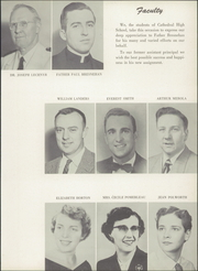 Page 11, 1956 Edition, Cathedral High School - Tower Yearbook (Burlington, VT) online yearbook collection