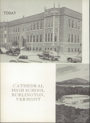 Page 6, 1956 Edition, Cathedral High School - Tower Yearbook (Burlington, VT) online yearbook collection