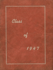 Page 1, 1947 Edition, Waterbury High School - Longhorn Yearbook (Waterbury, VT) online yearbook collection