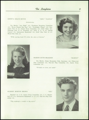 Page 11, 1947 Edition, Waterbury High School - Longhorn Yearbook (Waterbury, VT) online yearbook collection