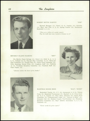 Page 14, 1947 Edition, Waterbury High School - Longhorn Yearbook (Waterbury, VT) online yearbook collection