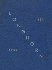 Page 1, 1952 Edition, Waterbury High School - Longhorn Yearbook (Waterbury, VT) online yearbook collection