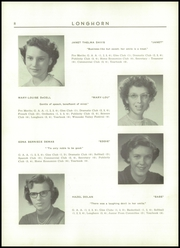 Page 10, 1952 Edition, Waterbury High School - Longhorn Yearbook (Waterbury, VT) online yearbook collection