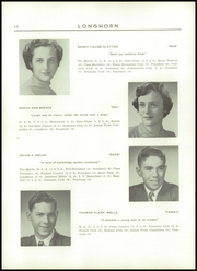 Page 16, 1952 Edition, Waterbury High School - Longhorn Yearbook (Waterbury, VT) online yearbook collection