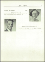 Page 17, 1952 Edition, Waterbury High School - Longhorn Yearbook (Waterbury, VT) online yearbook collection