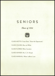Page 7, 1952 Edition, Waterbury High School - Longhorn Yearbook (Waterbury, VT) online yearbook collection