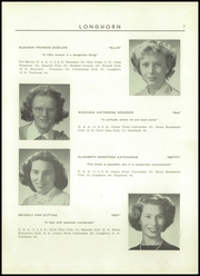 Page 9, 1952 Edition, Waterbury High School - Longhorn Yearbook (Waterbury, VT) online yearbook collection