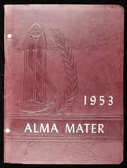 1953 Edition, Orleans High School - Alma Mater Yearbook (Orleans, VT)