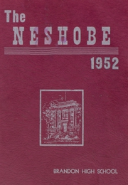Page 1, 1952 Edition, Brandon High School - Neshobe Yearbook (Brandon, VT) online yearbook collection