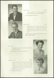 Page 10, 1952 Edition, Brandon High School - Neshobe Yearbook (Brandon, VT) online yearbook collection