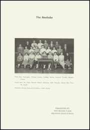 Page 3, 1952 Edition, Brandon High School - Neshobe Yearbook (Brandon, VT) online yearbook collection