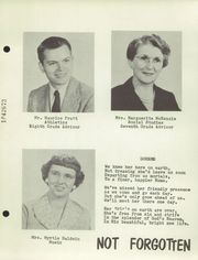 Page 15, 1956 Edition, Hinesburg High School - Iroquoian Yearbook (Hinesburg, VT) online yearbook collection