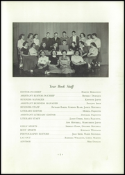 Page 5, 1954 Edition, Alburg High School - Blue Banner Yearbook (Alburg, VT) online yearbook collection