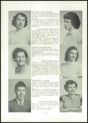 Page 8, 1954 Edition, Alburg High School - Blue Banner Yearbook (Alburg, VT) online yearbook collection