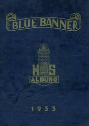 Page 1, 1955 Edition, Alburg High School - Blue Banner Yearbook (Alburg, VT) online yearbook collection