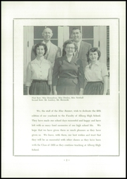 Page 4, 1955 Edition, Alburg High School - Blue Banner Yearbook (Alburg, VT) online yearbook collection
