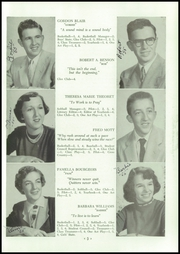 Page 7, 1955 Edition, Alburg High School - Blue Banner Yearbook (Alburg, VT) online yearbook collection