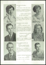 Page 8, 1955 Edition, Alburg High School - Blue Banner Yearbook (Alburg, VT) online yearbook collection