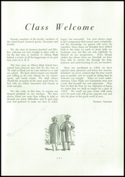 Page 9, 1955 Edition, Alburg High School - Blue Banner Yearbook (Alburg, VT) online yearbook collection