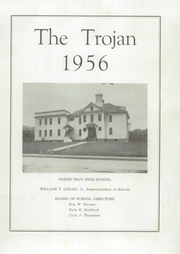 Page 3, 1956 Edition, North Troy High School - Trojan Yearbook (North Troy, VT) online yearbook collection